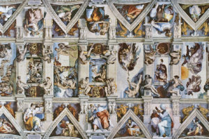 "The Sistine Chapel ceiling: Renaissance ""high art"" at its very finest"