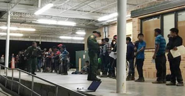 Border Patrol agents assigned to the Weslaco station apprehended two groups, consisting of 131 illegal immigrants, in little more than a day. (U.S. Customs and Border Protection)