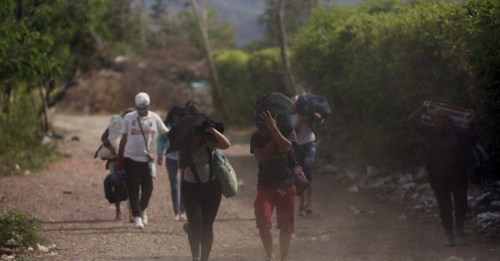 Follow the desperate trek of Venezuelan migrants fleeing on foot