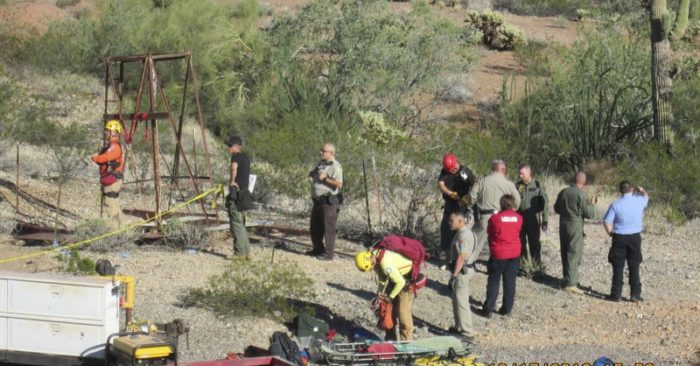 Arizona man talks about 2-day ordeal in abandoned mine shaft | TheBL com