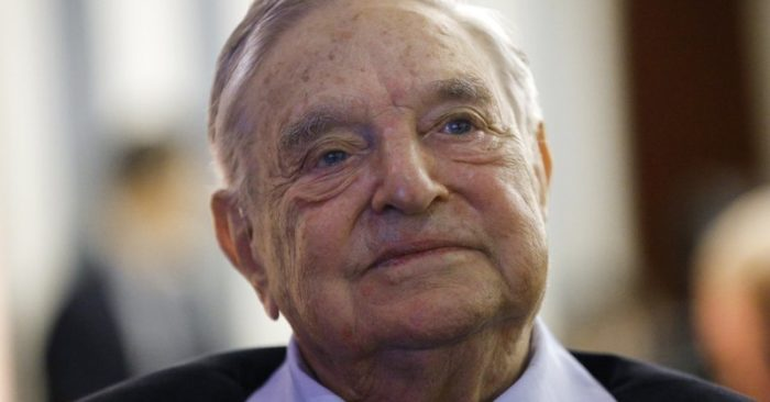 George Soros, founder and chairman of the Open Society Foundations, attends the European Council On Foreign Relations Annual Meeting in Paris. The FBI and local police responded to an address near Soros' home after an object that appeared to be an explosive was found in a mailbox
