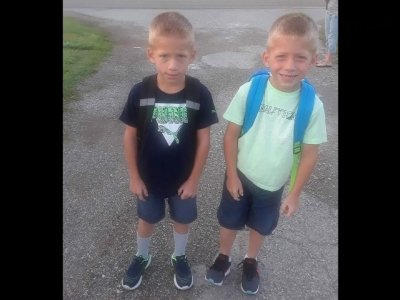 A 9-year-old girl and her twin 6-year-old brothers were struck and killed by a pickup truck as they crossed a northern Indiana road to board a school bus Tuesday morning, police said. The childrens' uncle appeared distraught in remembering them. (Oct. 31)