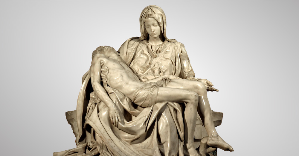 What made The Pietà by Michelangelo one of the finest sculptural masterpieces in the world? (Video)