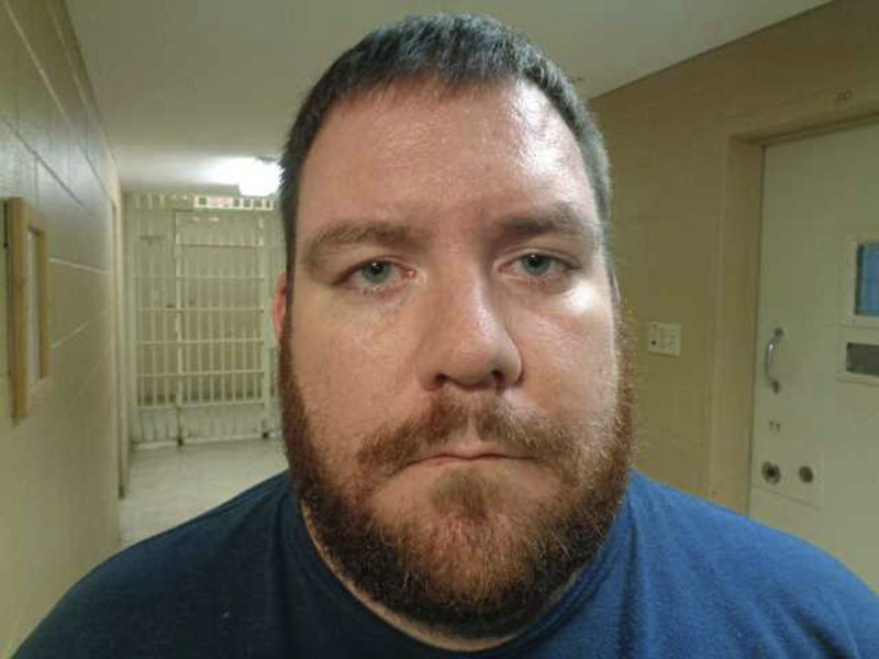This jail booking photo provided by the Moore County Sheriff's Office shows Bron Bohlar. Authorities say two Texas law enforcement officers are now charged in connection with a double homicide in upstate New York. The sheriff's office in Wayne County, New York, says Bohlar was arrested on Tuesday, Nov. 6, 2018, at his Dumas, Texas home on a warrant for conspiracy. (Moore County Sheriff's Office via AP)