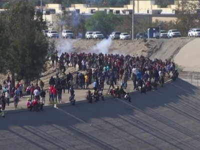 AP Reporter Recounts Migrants Being Tear-Gassed