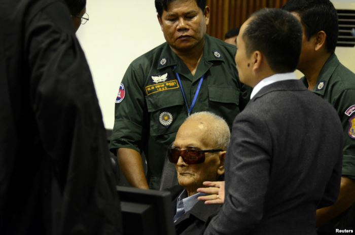 Former Khmer Rouge leader ''Brother Number Two'' Nuon Chea si