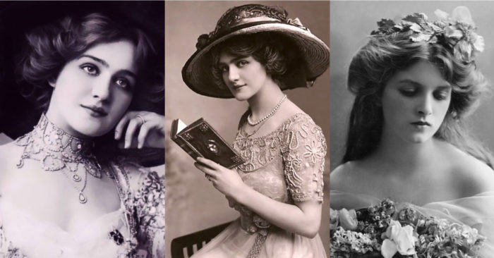 A reflection on the beauties of the past, shining in their simplicity. What was it that made these woman so captivating? (Video)
