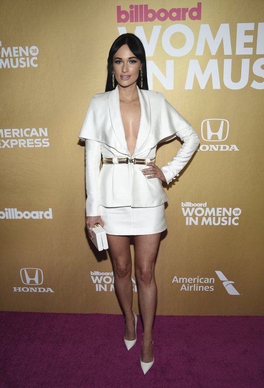 Kacey Musgraves attends the 13th annual Billboard Women in Music event at Pier 36 on Thursday, Dec. 6, 2018, in New York. (Photo by Evan Agostini/Invision/AP)