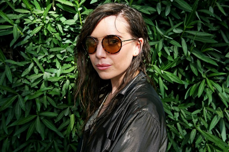FILE - In this April 10, 2015 file photo, Lykke Li poses for a portrait at the 2015 Coachella Music and Arts Festival in Indio, Calif. (Photo by Rich Fury/Invision/AP)