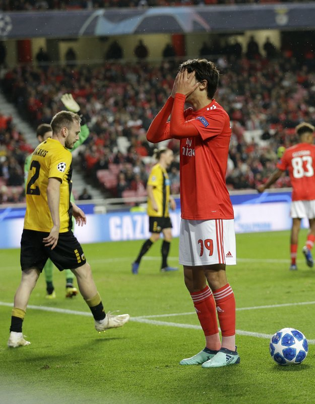 Benfica Ends Champions League Campaign With 1 0 Win Over
