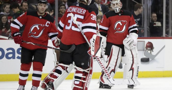 New Jersey Devils goaltender Keith Kinkaid dbec46e24