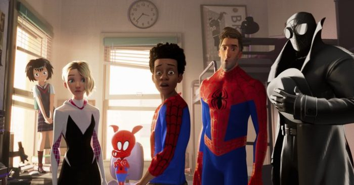 Spider Verse Swings To The Top Mortal Engines Tanks Theblcom