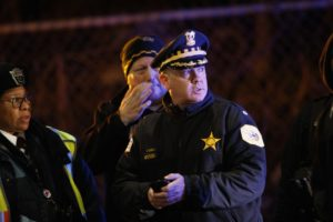 Man charged after train deaths of 2 Chicago police officers
