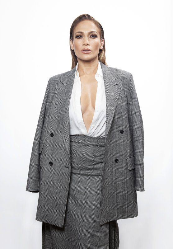 In this Dec. 10, 2018 photo, actress Jennifer Lopez poses for a portrait at the Four Seasons Hotel in Los Angeles to promote her  film