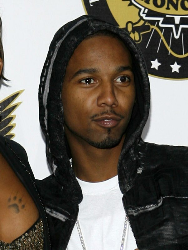 FILE - In this Oct. 2, 2008 file photo, Juelz Santana arrives at the VH1 Hip Hop Honors in New York. Santana, whose real name is LaRon James, was sentenced Wednesday, Dec. (AP Photo/Jason DeCrow, File)