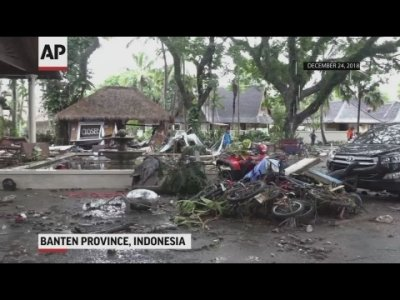 At least 281 people were killed and more than 1,000 injured after a deadly tsunami hit Indonesian islands, killing more than 280 people on a busy holiday weekend. (Dec. 24)
