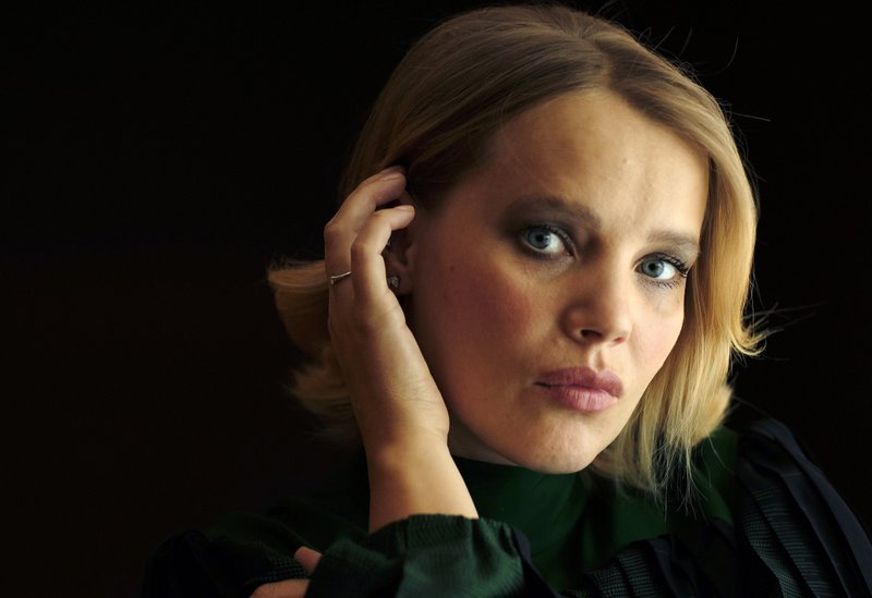 In this Dec. 3, 2018 photo, Joanna Kulig, a cast member in the Polish film