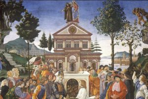 The arduous journey of Jesus Christ through the eyes of Botticelli