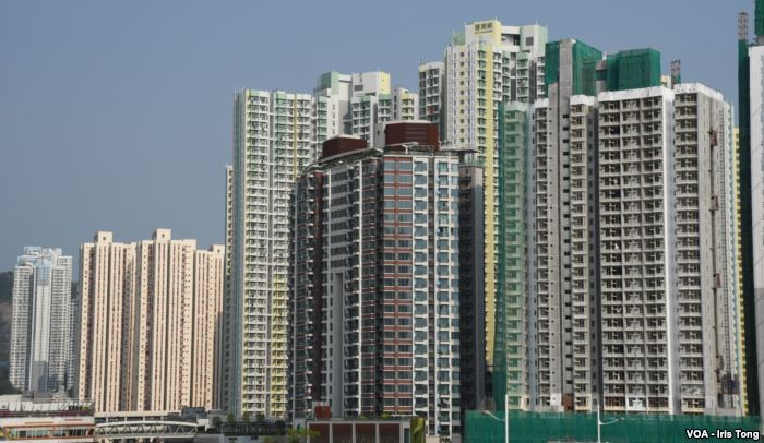 Carrie Lam, Hong Kong chief executive, announces new housing policy ahead of
