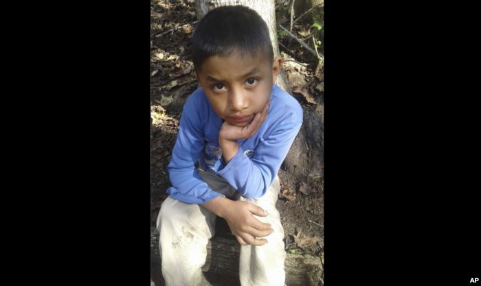 Catarina Gomez provided this photo of her half-brother Felipe Gomez Alonzo, 8