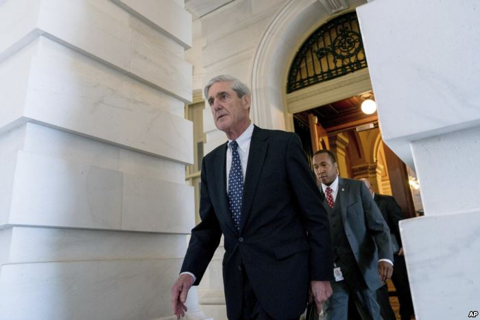 FILE - Special counsel Robert Mueller, in charge of investigating Russian int