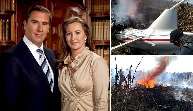 Newly sworn-in Mexican governor Martha Erika Alonso was killed in a small plane crash alongside her senator husband on Christmas Eve.