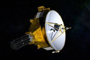 NASA spaceship closes in on distant world