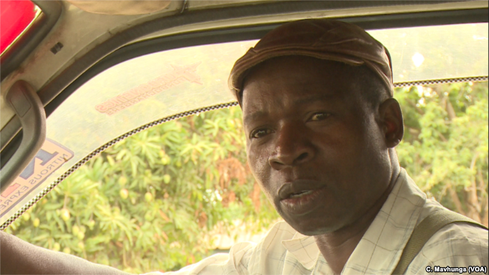 Stanford Chigwedere, a public transport driver in Harare says he is against t