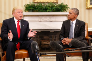 Trump says 'Obama had to know about' efforts to stop him from becoming president