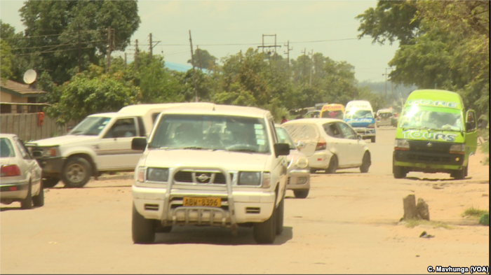 Zimbabwe's roads have become chaotic after years of neglect as motorists try