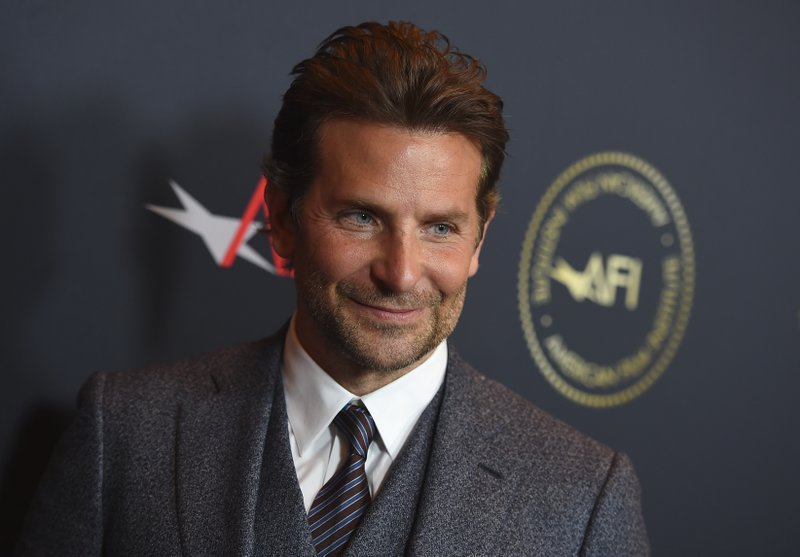 Bradley Cooper arrives at the 2019 AFI Awards at The Four Seasons on Friday, Jan. 4, 2019, in Los Angeles. (Photo by Jordan Strauss/Invision/AP)