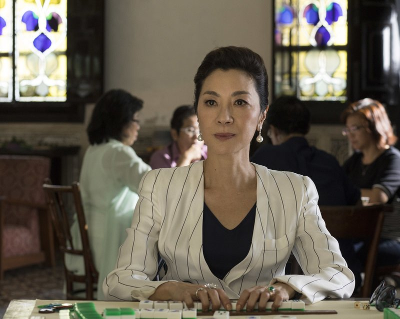This image released by Warner Bros. Entertainment shows Michelle Yeoh in a scene from the film
