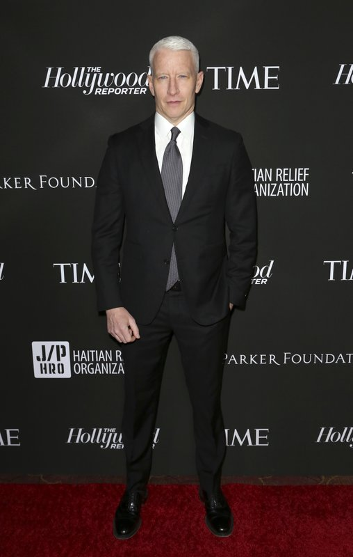 Anderson Cooper arrives at the 2019 Sean Penn J/P HRO & Disaster Relief Organizations Gala at The Wiltern Theatre on Saturday, Jan. (Photo by Willy Sanjuan/Invision/AP)