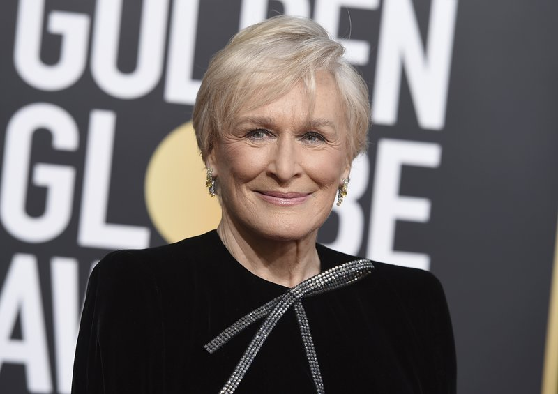 Glenn Close arrives at the 76th annual Golden Globe Awards at the Beverly Hilton Hotel on Sunday, Jan. (Photo by Jordan Strauss/Invision/AP)
