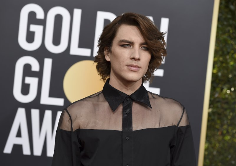 Cody Fern arrives at the 76th annual Golden Globe Awards at the Beverly Hilton Hotel on Sunday, Jan. 6, 2019, in Beverly Hills, Calif. (Photo by Jordan Strauss/Invision/AP)