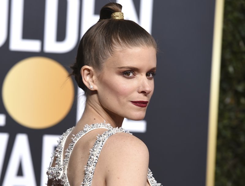 Kate Mara arrives at the 76th annual Golden Globe Awards at the Beverly Hilton Hotel on Sunday, Jan. 6, 2019, in Beverly Hills, Calif. (Photo by Jordan Strauss/Invision/AP)