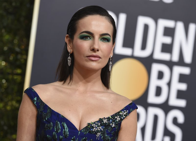 Camilla Belle arrives at the 76th annual Golden Globe Awards at the Beverly Hilton Hotel on Sunday, Jan. (Photo by Jordan Strauss/Invision/AP)