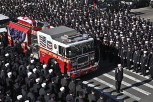 Funeral for NYC firefighter: 'Bravery was in his blood'