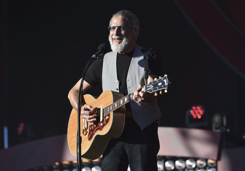FILE - In this Saturday, Sept. 24, 2016, file photo, musician Yusuf Cat Stevens performs at the 2016 Global Citizen Festival in Central Park in New York. (Photo by Evan Agostini/Invision/AP, File)