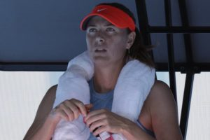 Update: Sharapova routs qualifier at Australian Open