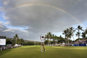 Another win for Kuchar, this victory with a rainbow