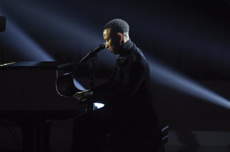 John Legend performs at the