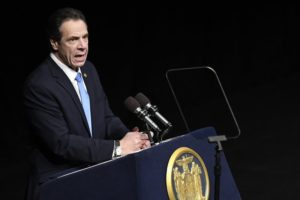 Cuomo unveils plan to make NY 11th state to legalize pot