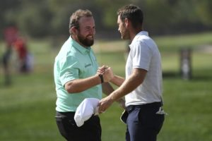 Shane Lowry shoots 62 in 1st round, leads in Abu Dhabi