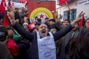 Tunisia hit by general strike, amid economic tensions
