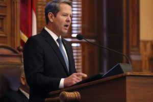 Georgia's Kemp unveils Medicaid waiver in State of State
