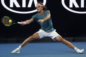 Update: Greek stars in early action at Australian Open