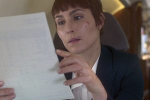 Noomi Rapace explores the female bodyguard life in 'Close'