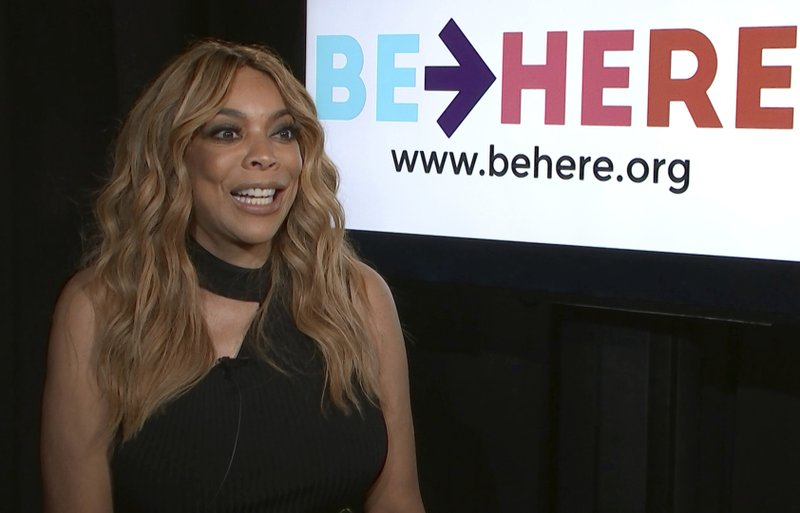 This Sept. 7, 2018 file image taken from video shows talk show host Wendy Williams during an interview in New York. (AP Photo, File)