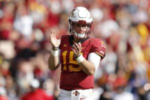 QB Brock Purdy looking to be Iowa State's Tim Tebow